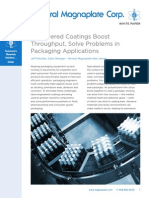 Coatings Engineered Packaging Boost Throughput