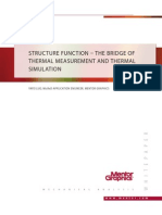 Structure Function – the Bridge of Thermal Measurement and Thermal Simulation