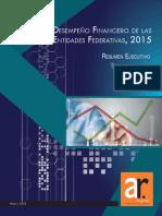Índice de Desempeño Financiero de las Entidades Federativas (IDFEF) 2012-2013