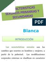 caracteristicas sexuales primarias y secundarias