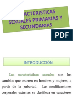 caracteristicas sexuales