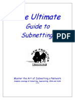 Ultimate Guide to Subnetting
