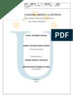 Modulo Economía Formato Word 2013