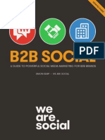 We are social How to win insocial
