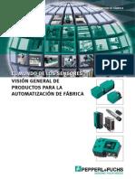 Sensores Vision General de Productos Para La Automatizacion de Fabrica