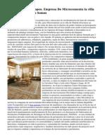 Microcemento Europeo. Empresa De Microcemento la villa de Madrid. Quienes Somos