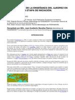 Metodologia para la Enseñanza del Ajedrez