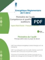 Ae4 - Apave Qualif Auditeur - f.coevoet - Atee Audit 2014-11-20