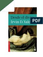 Yalom Irvin David - Desde El Divan