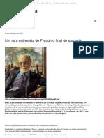 Um Rara Entrevista de Freud No Final de Sua Vida _ Academiafreudiana
