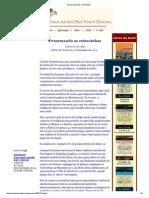 2013 01 27 - Desarmando as Criancinhas-Artigo de Olavo de Carvalho