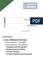 Aula2 ListasEstaticas Estrutura de Dados FASA
