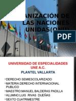 Organización de Las Naciones Unidas(Onu)