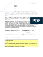 Website Publishing Northcentral University Assignment Cover Sheet