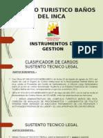 Exposicion Instrumentos de Gestion Ctbi