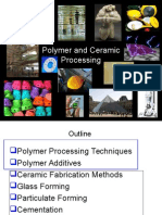 Polymer and Ceramic Processing