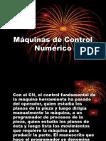 Exposicion de Maquinas de Control Numérico