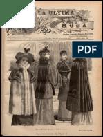La Última Moda, Revista Ilustrada Hispanoamericana