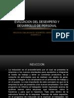 Evaluacion Del Desempeño y Desarrollo de Personal