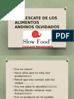 Ponencia Simposio Tambo 2014 SLOW FOOD