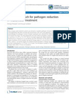 A Novel Approach for Pathogen Redcution in Wastewater Treatment