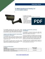 V660B-488IR Bullet Camera-datasheet Final(1)