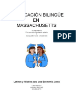 La Educa c i on Bilingue en Mass