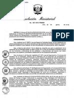 Plan de Publicidad Ministerio de Comercio