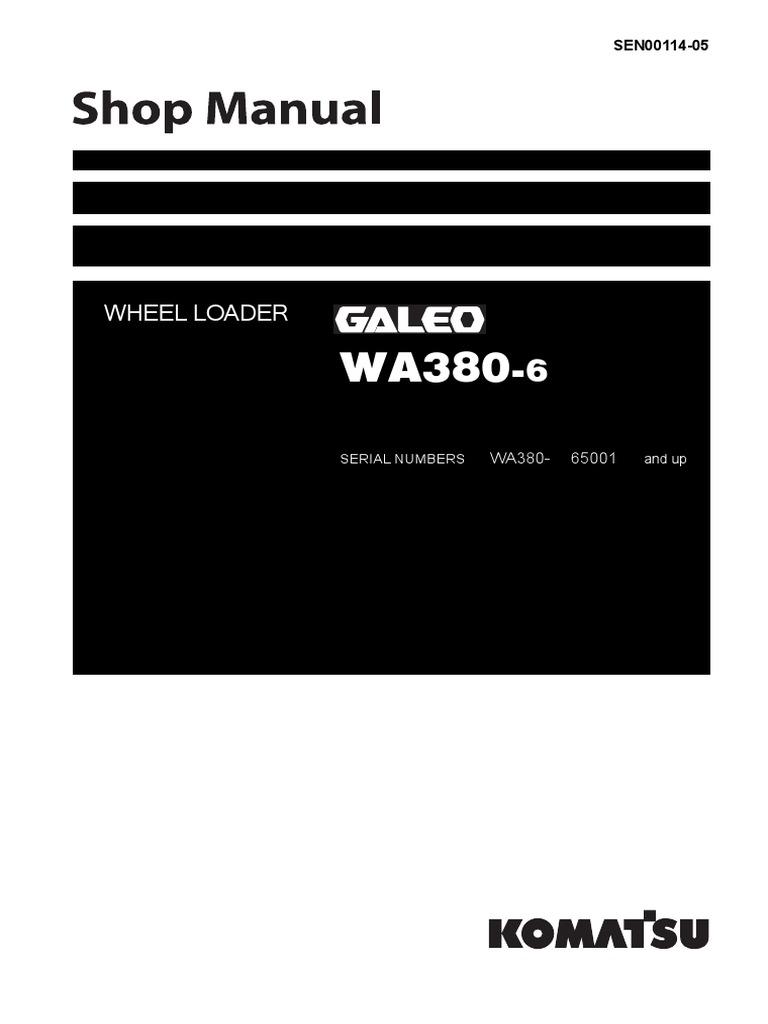 Shop manual wa380 6pdf transmission mechanics switch sciox Gallery