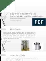 Equipos Básicos en Un Laboratorio de Bacteriología