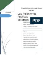 Relaciones Públicas Externas