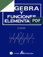 Álgebra y Funciones Elementales - R.Kalnin