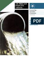 Hydraulics Of Precast Concrete (Aust)