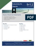 UPK Class Agenda 2011