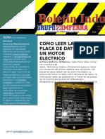 Caracteristicas de Placa Motor