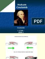 Pertemuan Ke 9.3. Hukum Coulomb