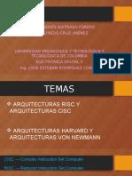 Risc - Cisc ___ Harvard - Von Newman