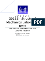 Structural Mechanics 301BE