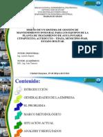 Diseno Sistema Gestion Mantenimiento Integral Equipos Planta Tratamiento Agua Potable
