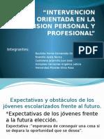 Intervencion Orientada en La Dimension Personal y