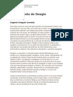 El Argumento de Onegin