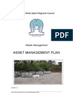 Tsirc Waste Management Asset Management Plan