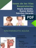 Infecciones de Las Vías Respiratorias