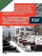 El Cooperativismo Transformador y La Batalla Cultural