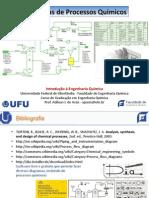 Diagramas (Fluxogramas) Processos Quimicos