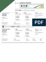 ticket for abid
