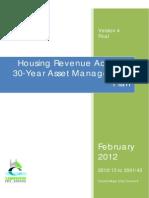 Hra Asset Management Plan2012