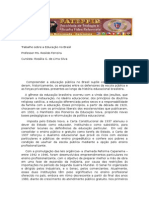 Educacao No Brasil