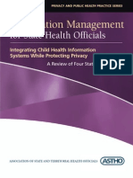 Is 2005 Integrating Child Health Information Systems While Protecting Privacy