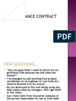 Contract of Insurance